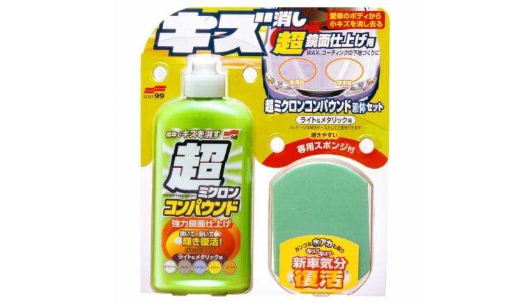 SOFT99 Micro Liquid Compound LightMetallic - cleaner do lakieru