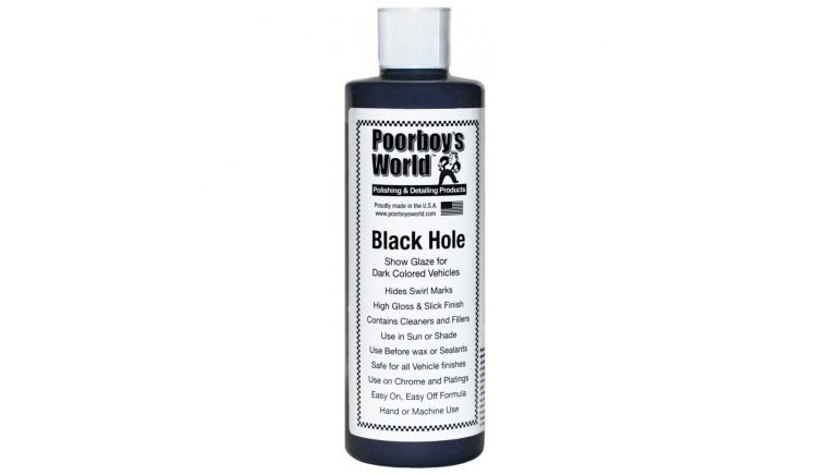 POORBOYS WORLD Black Hole Show Glaze 473ml - politura do ciemnych lakierów