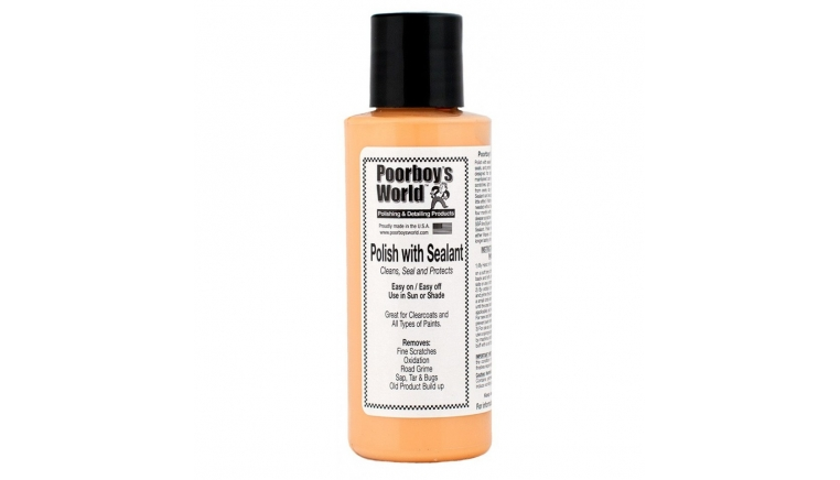 POORBOYS WORLD Polish with Sealant - Tester 118ml - aio - all in one
