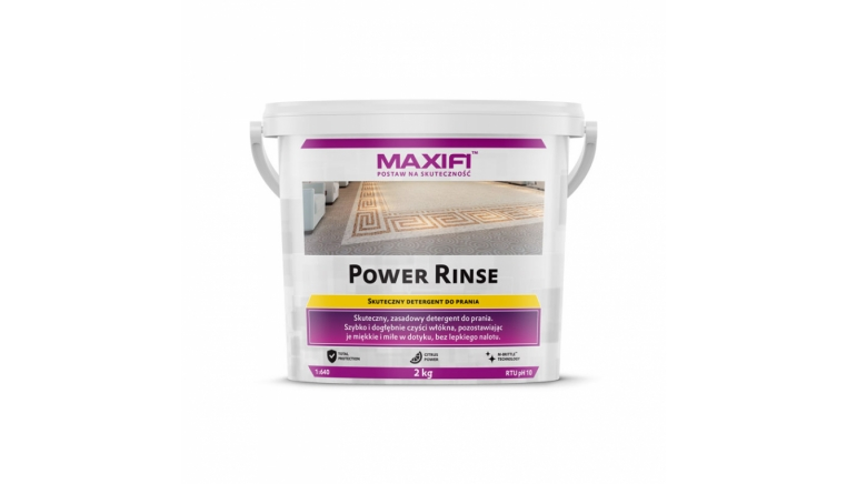 Maxifi Power Rinse 2kg detergent do ekstrakcji